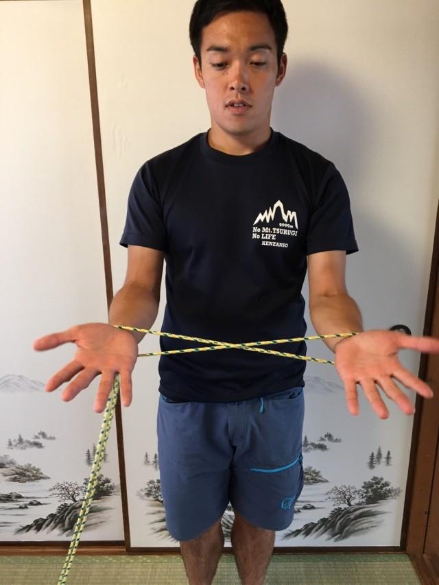 手首のヒモトレエクササイズ2