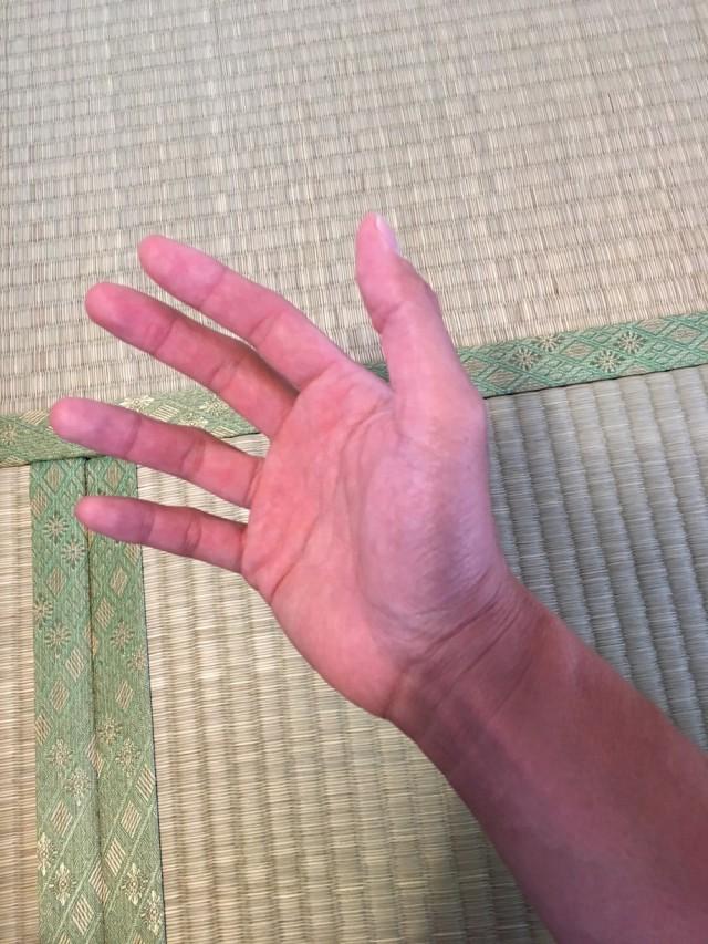 自律神経と手の関係