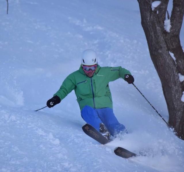 スキーはとにかく楽しい